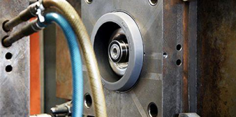 Assemblage des composants pour former la roulette RESILEX